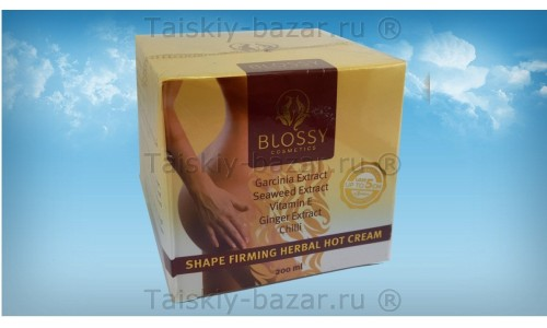 Антицеллюлитный крем – контур для тела Blossy