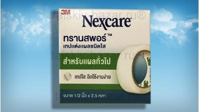 Дышащий гипоаллергенный пластырь 3M Nexcare