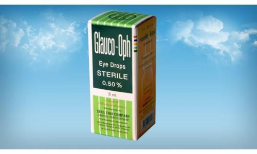 Глазные капли Glauco-Oph для лечения глаукомы