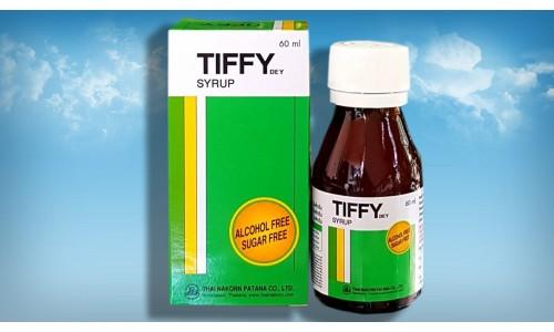 Популярный тайский сироп от простуды Tiffy 60 мл