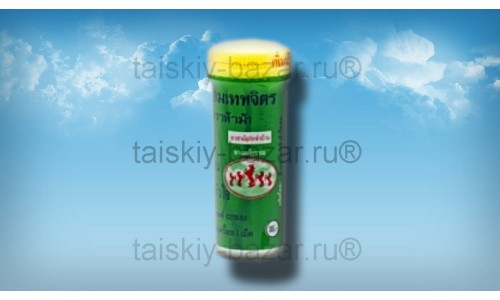 Травяные тайские пастилки «Я Хом Трахама» от тошноты и головокружения