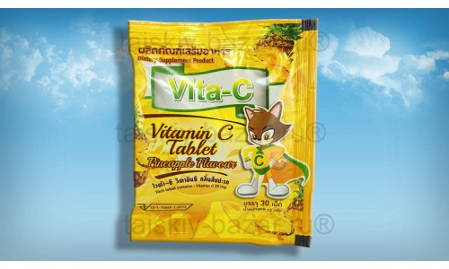 Витамин С: Аскорбинка с Ананасом 30 таблеток