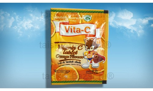 Витамин С: Аскорбинка с Апельсином 30 таблеток