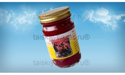 Красный бальзам с экстрактом галангала Пай Дэнг