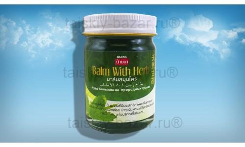 Тайский чудо бальзам Banna на травах зеленый