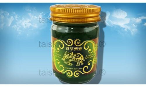 Зеленый бальзам со слоном 50 грамм