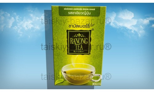 Чай из шелковицы с японским зеленым чаем Ranong Tea 30 пакетиков