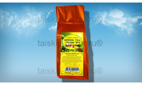 Зеленый тайский чай с ананасом 100 грамм