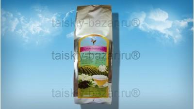 Зеленый ароматизированный чай улонг с жасмином 100 грамм