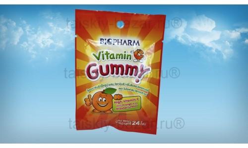 Детские жевательные конфетки с витамином С