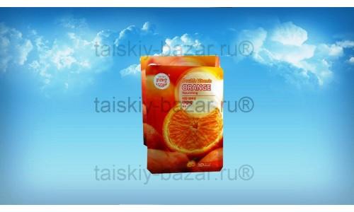 Апельсиновая питательная тканевая маска для лица