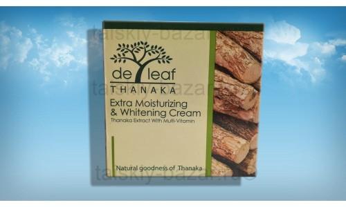 Крем для лица с танакой De Leaf Thanaka – Экстра увлажнение и отбеливание