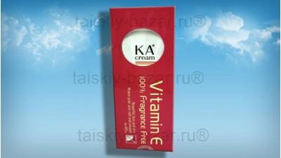 Крем против старения кожи лица с витамином Е
