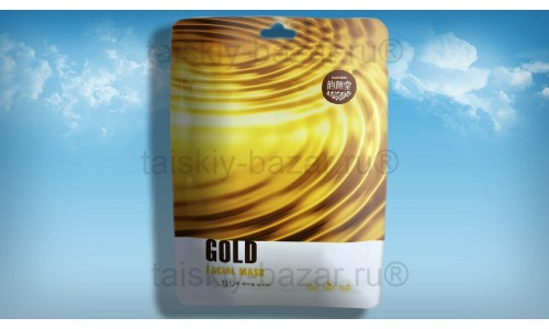 Тканевая маска для лица Золото против морщин