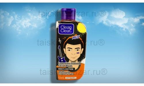 Пенка для умывания для мужчин Clean&Clear