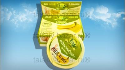 Банановый крем для ног смягчающий