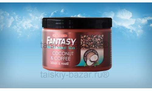 Кофейно-кокосовая маска для волос Carebeau 250 грамм