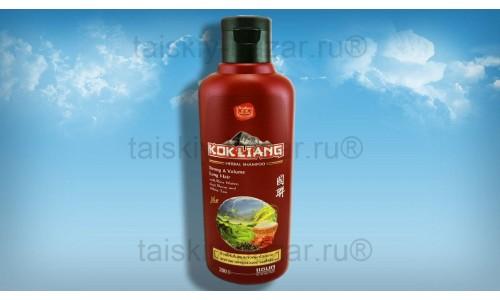 Шампунь для объема волос на травах с ягодами годжи Kokliang