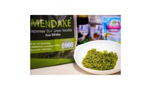 Полезная лапша Mendake из спирулины для правильного питания
