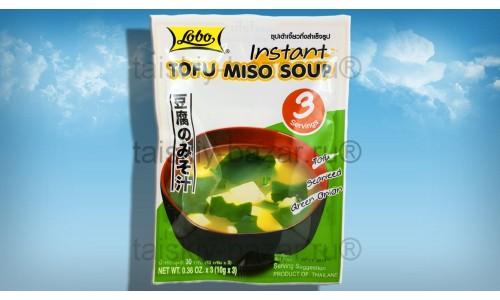 Мисо суп с тофу 3 порции Lobo