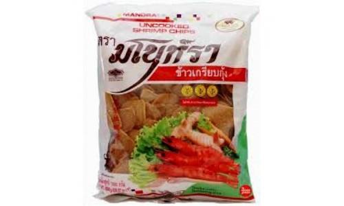 «Сырые» креветочные чипсы - вкусный полуфабрикат из Тайланда
