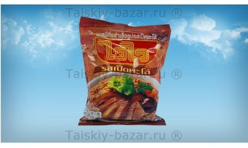 Тайский суп - лапша с уткой МАМА быстрого приготовления