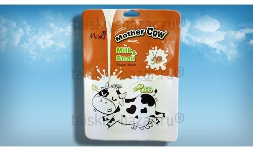 Тканевая маска для лица Молоко и Улитка