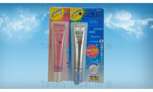 Крем - мусс для лица с высоким фактором защиты от солнца SPF50++++