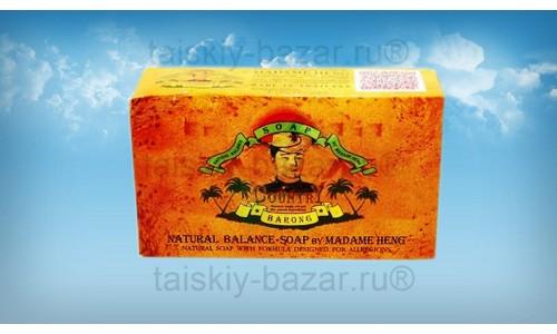 Цветочно-травяное мыло Barong Мадам Хенг от насекомых и не только