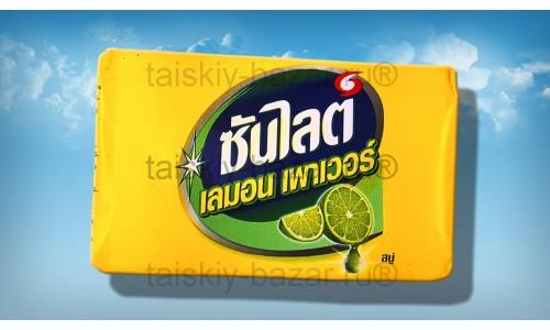 Тайское хозяйственное мыло с лаймом