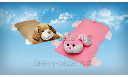Детская подушка игрушка из натурального латекса