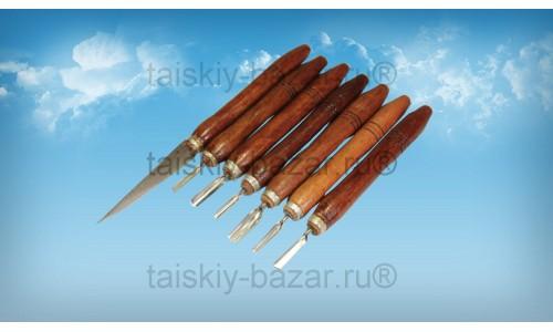 Набор для карвинга – тайский нож и шесть резцов