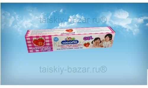 Гелевая зубная паста для детей из Тайланда