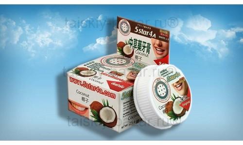 Тайская зубная паста Кокос 5 STAR 4A