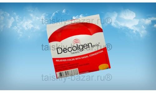 Таблетки против простуды, насморка и температуры Decolgen