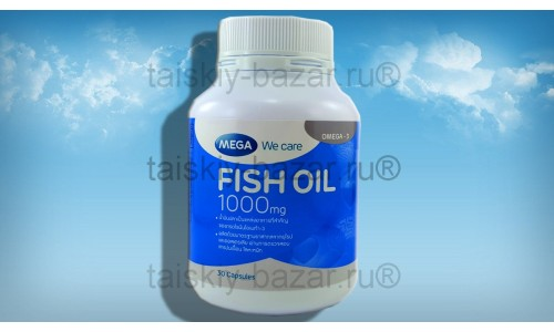 Рыбий жир в капсулах Mega 30 капсул