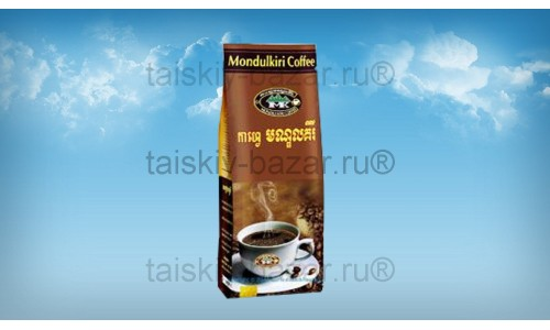 Камбоджийский шоколадный кофе Мондулкири 500 грамм