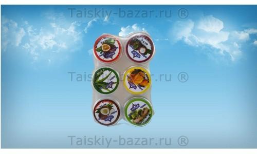 Фруктовый бальзам для губ - набор из 6 вкусов