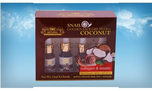 Кокосовая сыворотка с фильтратом улиточной слизи