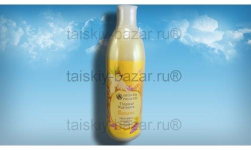Банановый лечебный шампунь для сухих и поврежденных волос