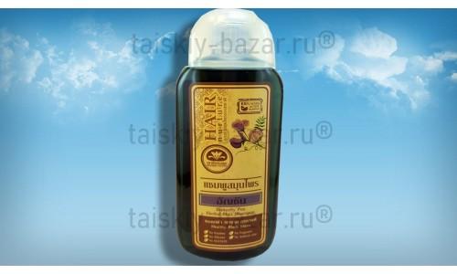 Безсульфатный шампунь с синим чаем – натуральная формула