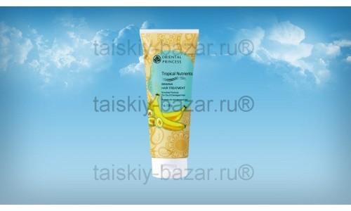 Лечебная маска-кондиционер с бананом  для сухих и поврежденных волос