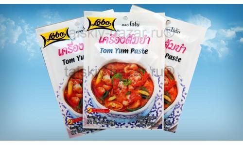 Паста для приготовления дома тайского супа Том Ям