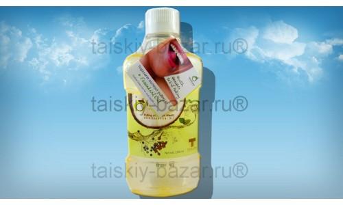 Кокосовое масло с травами Тропикана для полоскания рта и горла