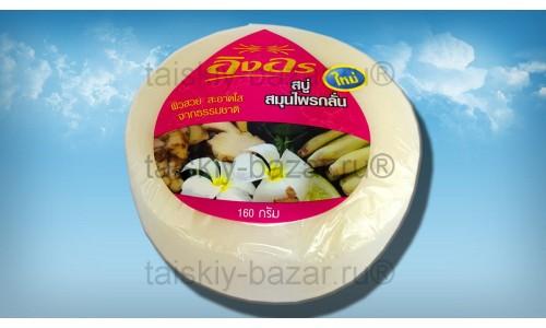 Тайское безсульфатное мыло с франжипани и лемонграссом