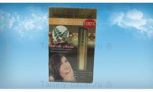 Натуральная сыворотка для лица с маслом моринги