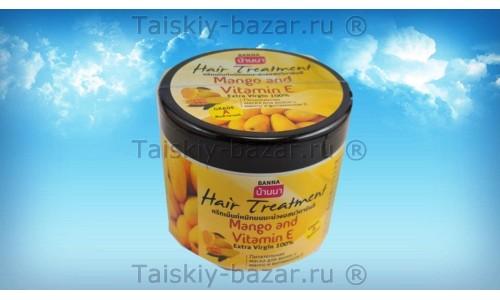 Питательная маска для волос Banna с манго и витамином Е